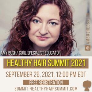 Virtual Healthy Hair Summit Sept 25-26, 2021